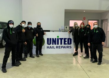 United Hail Repairs @ Glen Waverley keeping safe